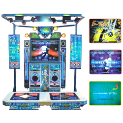 Dance Station 3DDX: Classic Rock Dance machine
