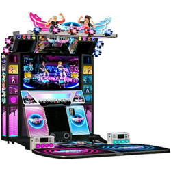 Dance Central 3 Music Rhythm Game Machine