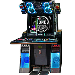 EZ2AC Time Traveller Arcade Game Machine