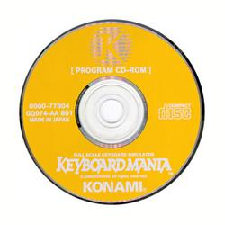 Keyboard Mania Program CD